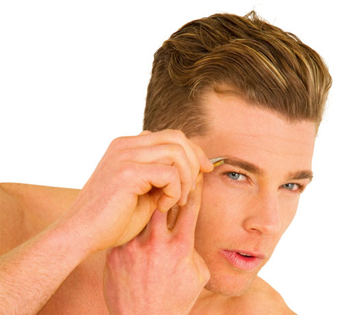 Haare zupfen statt rasieren