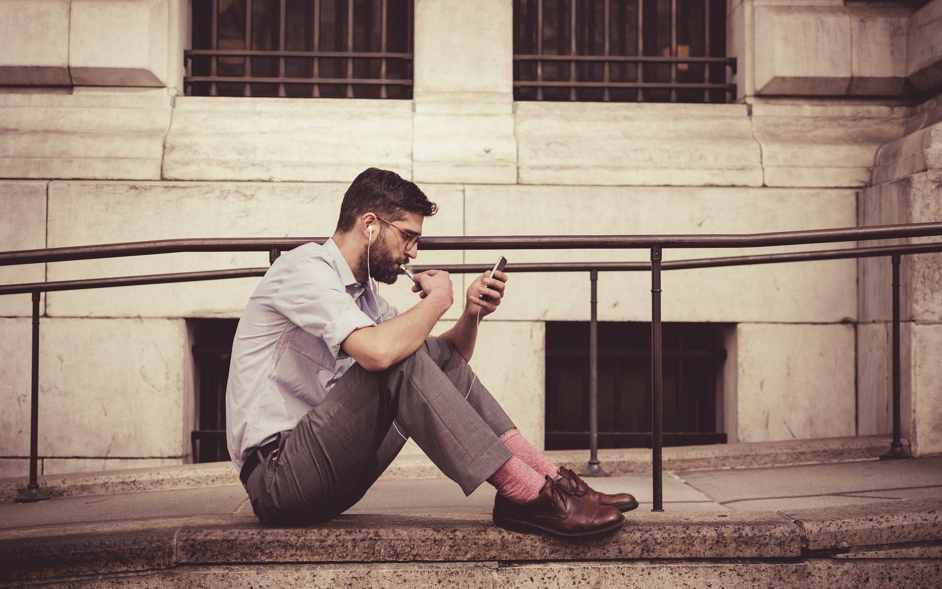 die passenden Socken auf men-styling.de