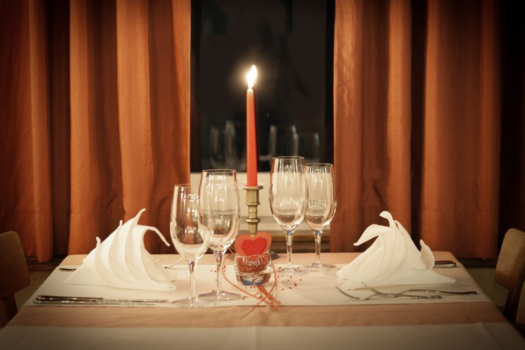 Das candle light dinner daheim auf men-styling.de